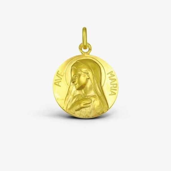 Médaille de baptême Ave Maria