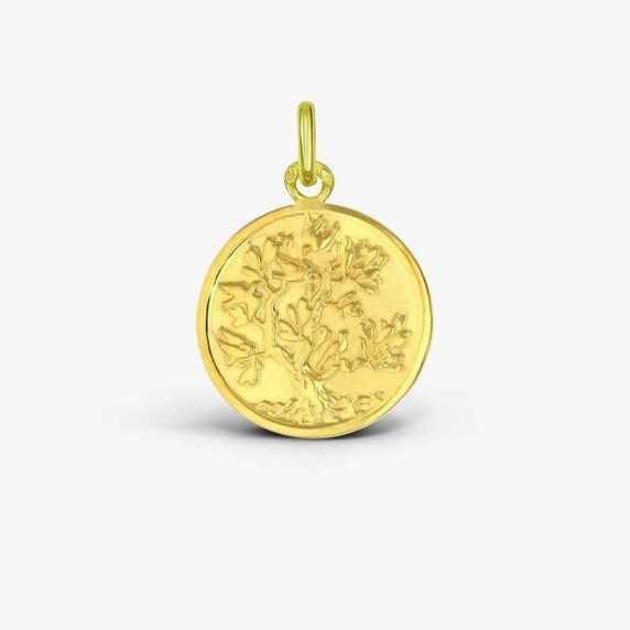 Médaille de baptême Arbre de Vie Colombes
