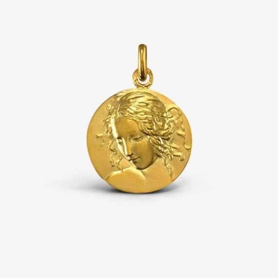 Médaille Vierge de Vinci