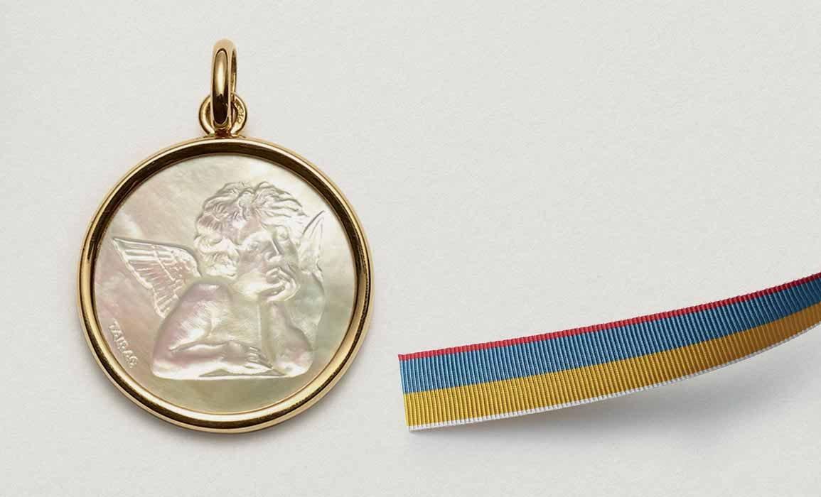 Médailles ange