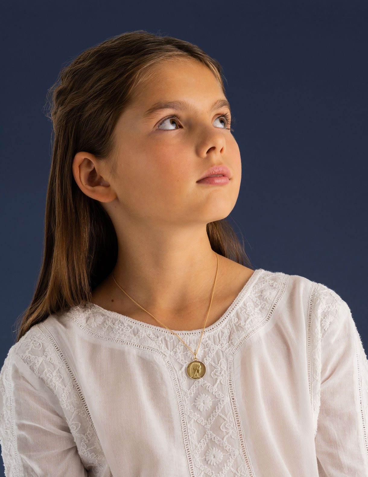 Médaille Fille Vierge Jeune