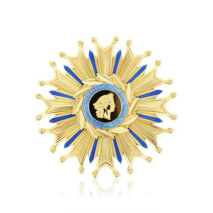 Plaque Ordre National du Mérite Grand-Croix