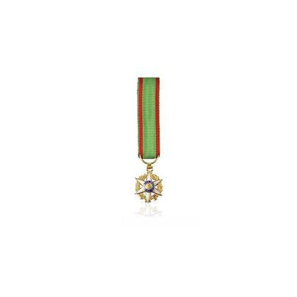 Miniature Mérite Agricole Chevalier