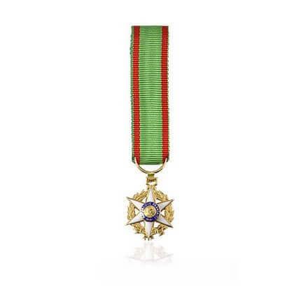 Miniature Mérite Agricole Commandeur