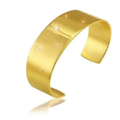 Bracelet manchette Lune de Miel