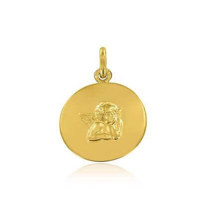 Médaille Galet Ange de Raphaël