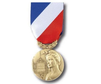 Médaille Sécurité Intérieure échelon bronze
