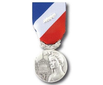 Médaille Sécurité Intérieure échelon argent