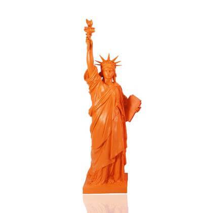 Statue de la Liberté Orange