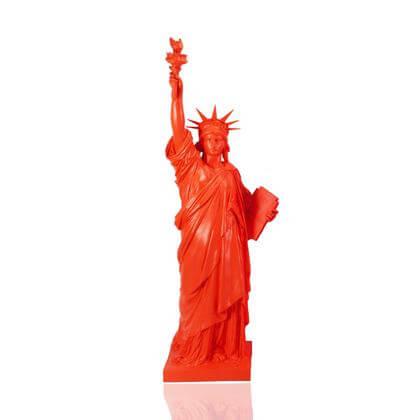 Statue de la Liberté Rouge