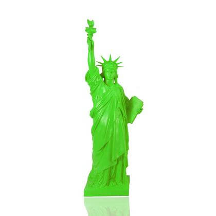 Statue de la Liberté Verte