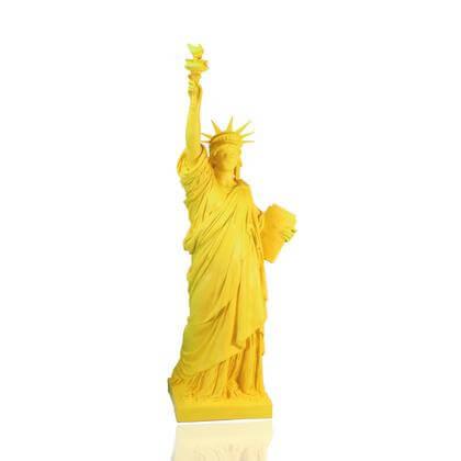 Statue de la Liberté Jaune