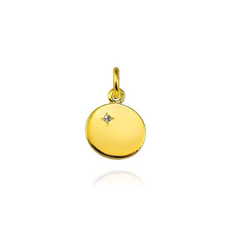 Pendentif «Ma Petite Etoile» or jaune